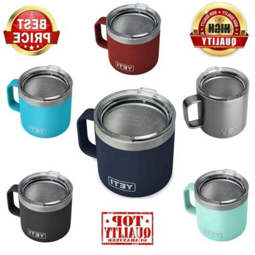 YETI Rambler 6 Colors 14 oz Stainless Steel Vacuum Insulated