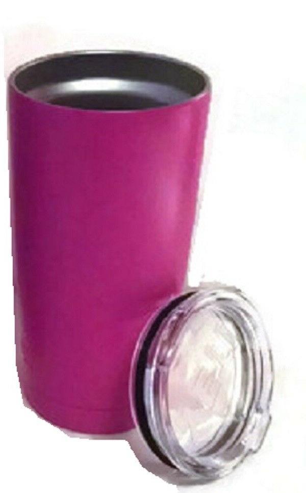 Rambler Mug Cup Tumbler with Lid - Pink - NEW