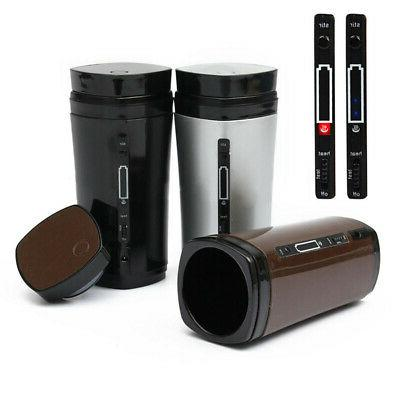 Rechargeable USB Heating Stirring Auto Coffee Lid