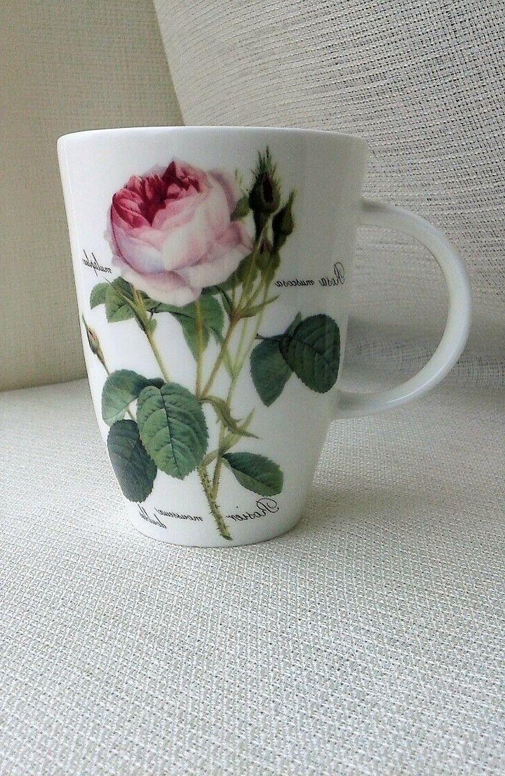 redoute roses fine bone china coffee tea