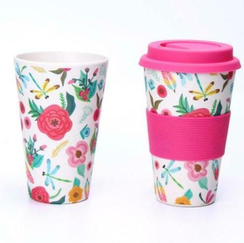 Reusable Coffee Mugs Travel Mug Bamboo Fiber Takeaway
