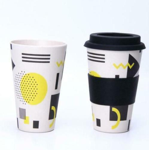 Travel Mug Bamboo Fiber Drinkware