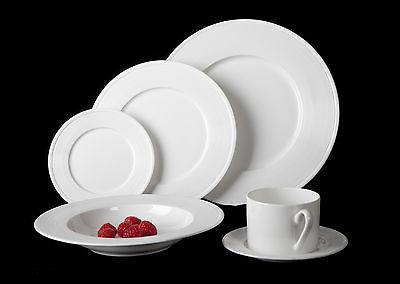 Mikasa Ridge 24 Piece Bone China Dinnerware Set, Service for