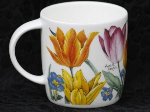 roy kirkham spring flowers fine bone china