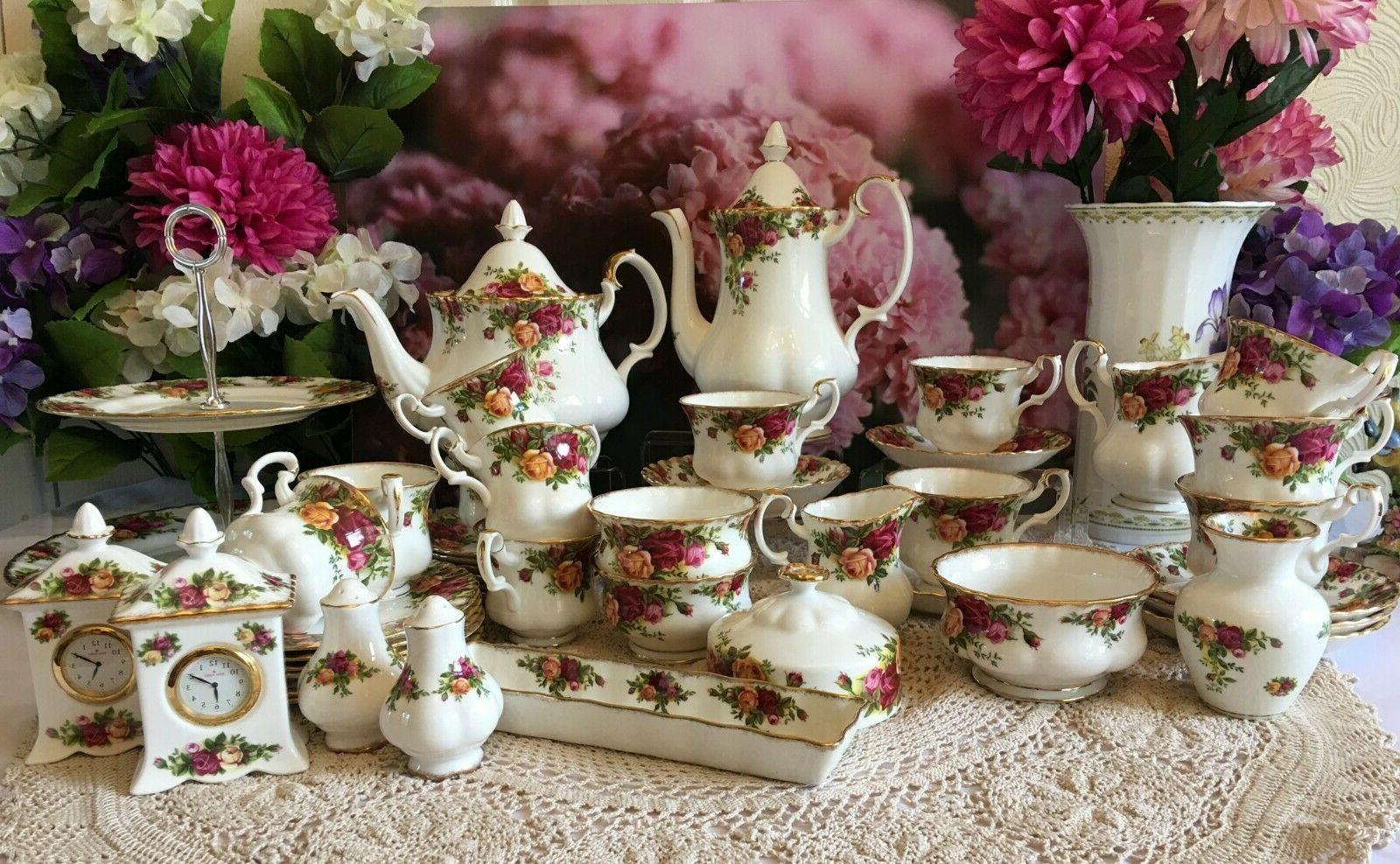 royal albert old country roses bone china