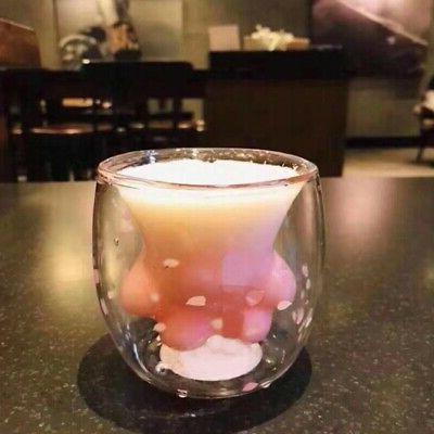 Sakura Paw Cup Coffee Mug for Pink