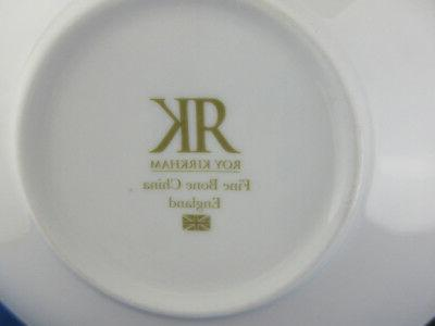 *SALE* bone china Breakfast Saucer, Made in Kirkham