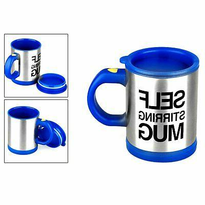 Self Mug Auto Mixer Tea Soup Home Insulated Coffee Stainless