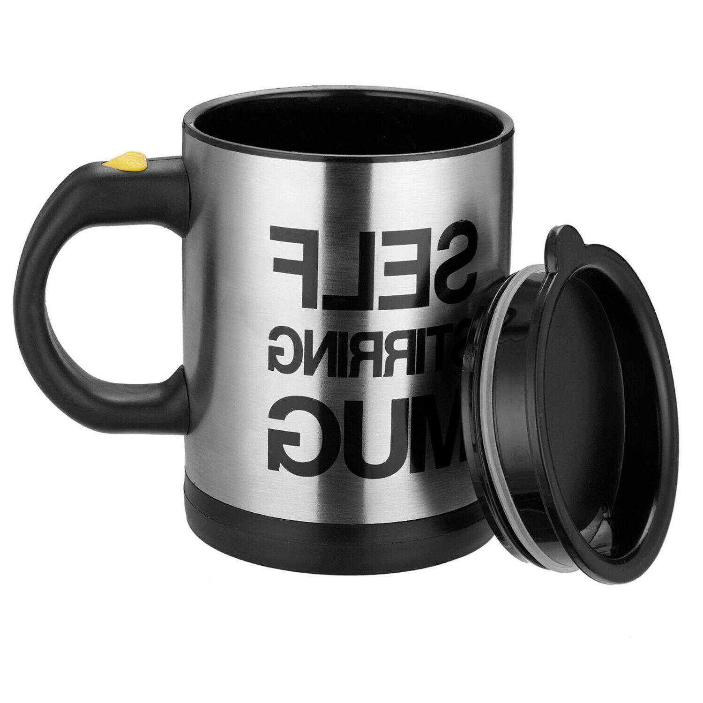 Self Stirring Mug Coffee Cup Auto Mixer Drink Tea Home Insul