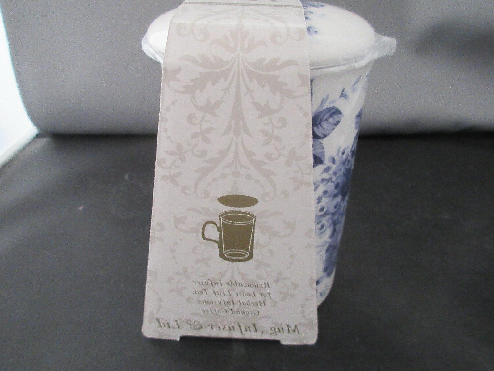 Set of CHINTZ Infuser Bone MadeEngland Roy Kirkham 10oz