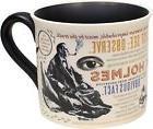 Sherlock Holmes Coffee Mug - Holmes quotes, rules of deducti