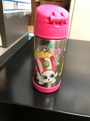 Thermos Shopkins 12 oz Funtainer Water Pink