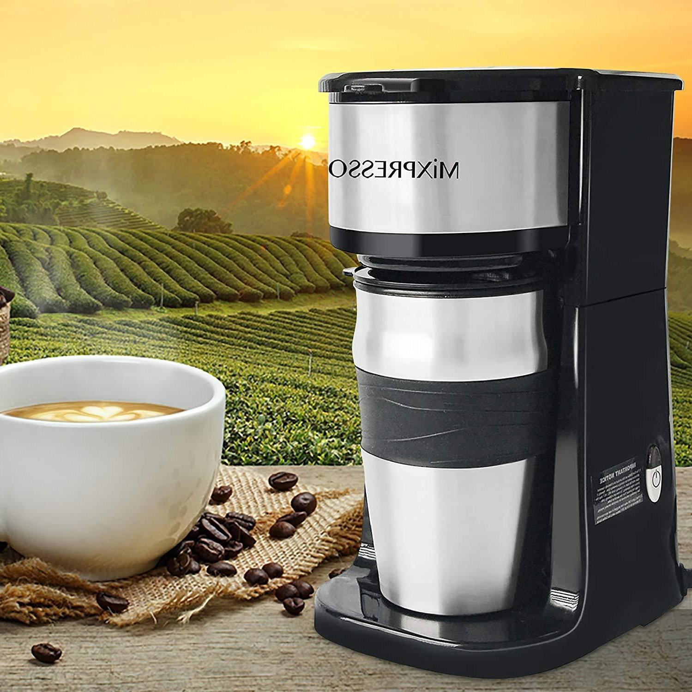 Ultimate 2-In-1 Cup Coffee Maker & Travel Mug