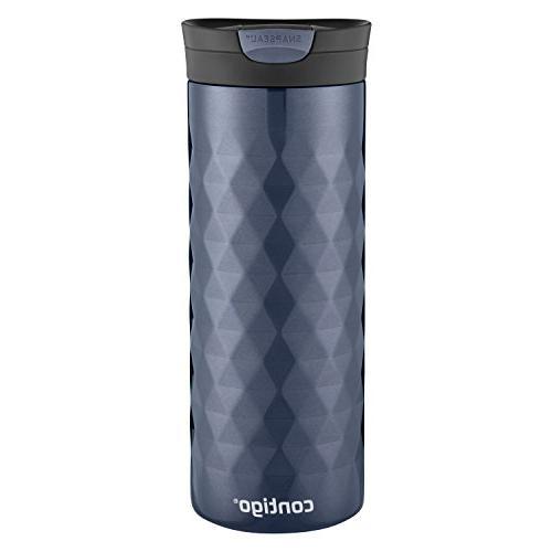 Contigo SnapSeal Kenton Stainless Steel Travel Mug, 20 oz, S