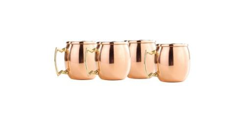 solid copper moscow mule shot