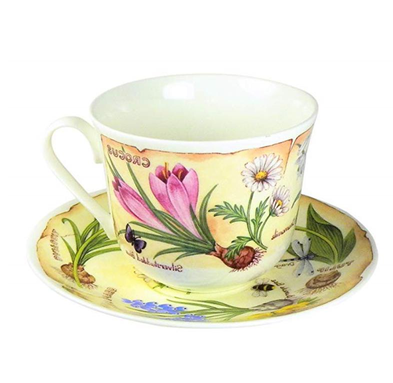 Roy Breakfast Tea Saucer England