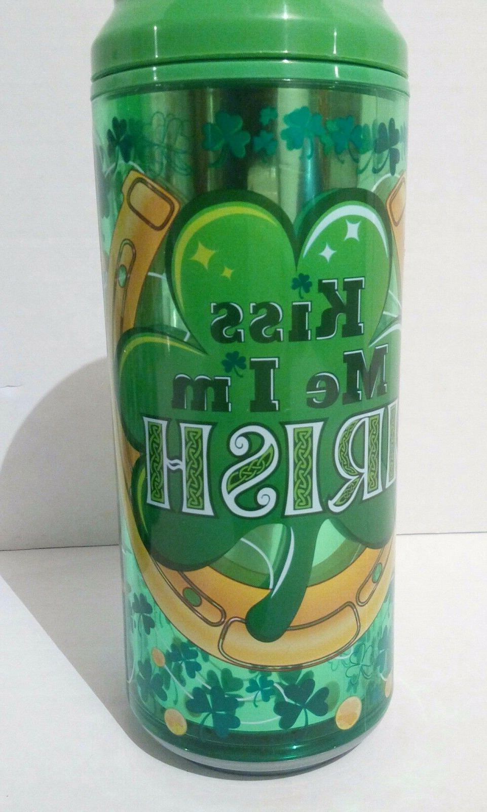 St Patricks Day Cool Gear Can Go Green Luck Kiss Me I'm Iris