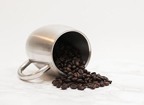 Stainless Coffee Mug by Oz Double Insulated - - Value