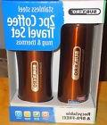2 piece Subzero Stainless Steel Coffee Mug and Vacuum Thermo