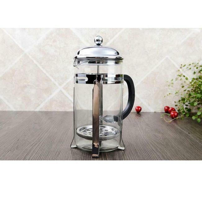 Stainless steel Coffee Maker Mug 34 OZ Chrome Coffee
