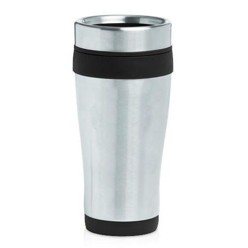 stainless steel insulated 16oz travel mug coffee