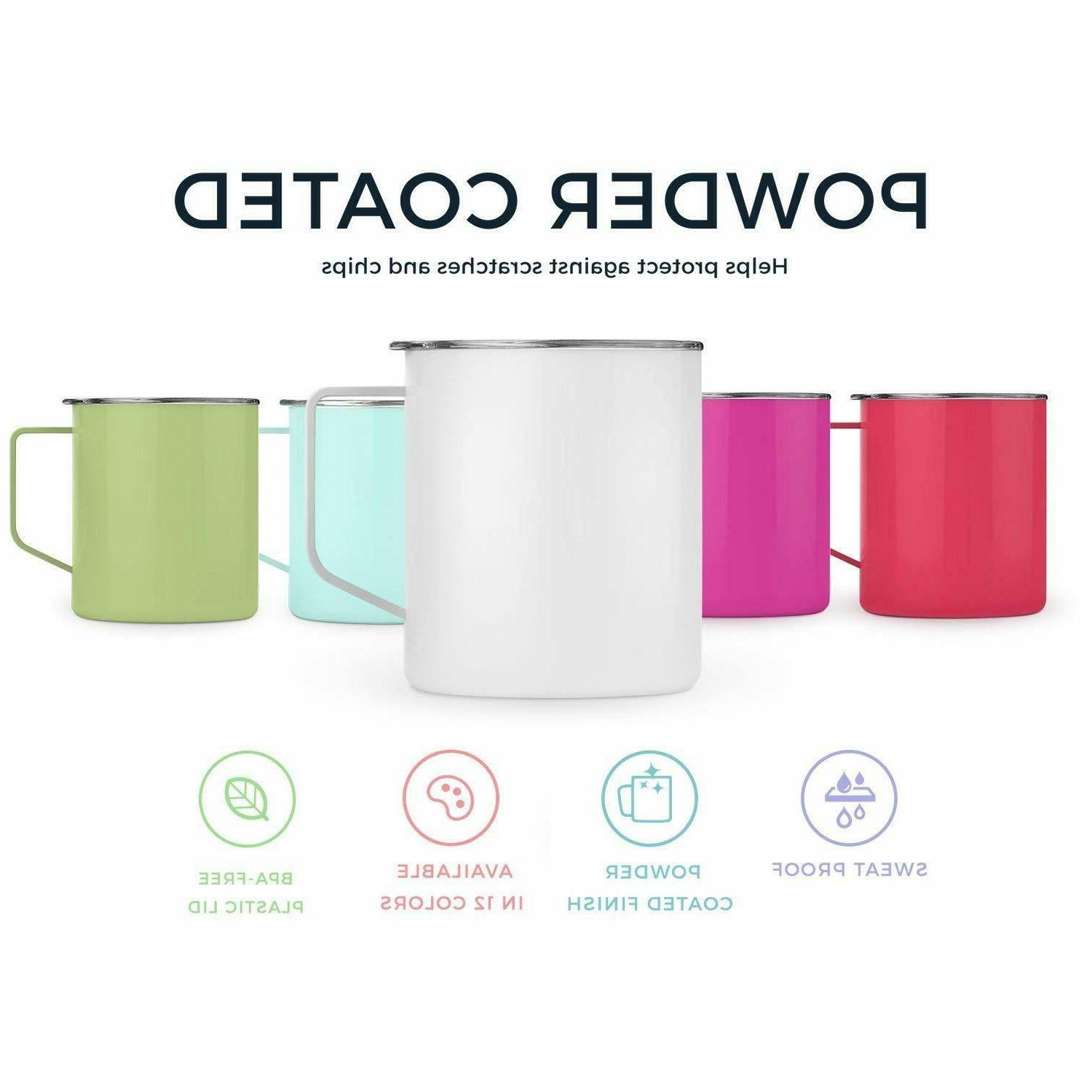 Stainless Insulated Coffee Mug Double Sealed