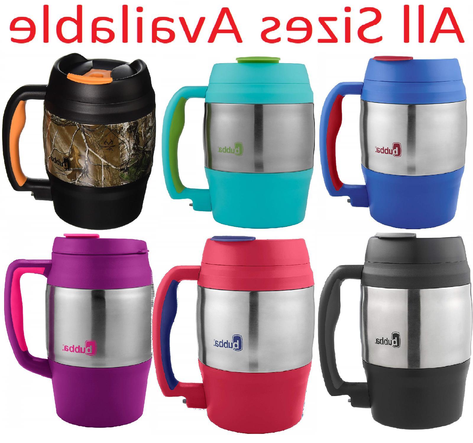 stainless steel insulated coffee mug handle lid