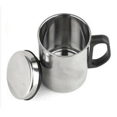 Stainless Steel Bottle Water Cup Sport Mug Coffee Travel