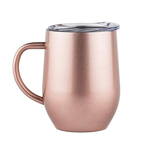 Stainless Steel Stemless Wine Gl