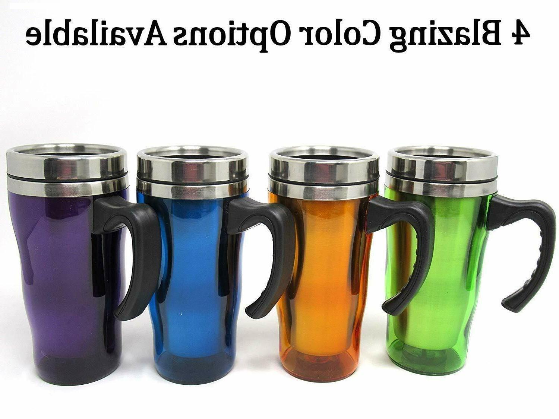 LEAKPROOF Thermal Mug steel Coffee Handle