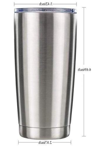 Stainless Steel Tumbler oz Travel Mug Lid Holiday Gift