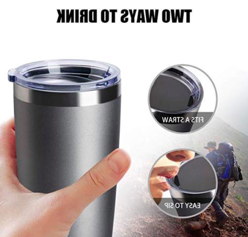 Stainless Steel 20 oz Coffee Cup Travel Mug Gift
