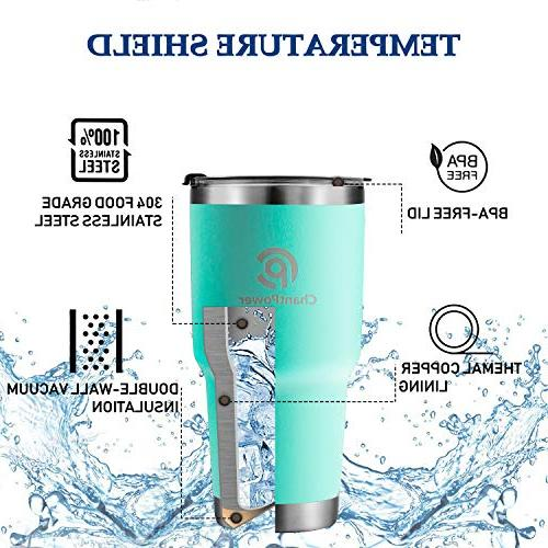 Travel Spill Stainless Travel Mug for Hot Vacuum Coffee