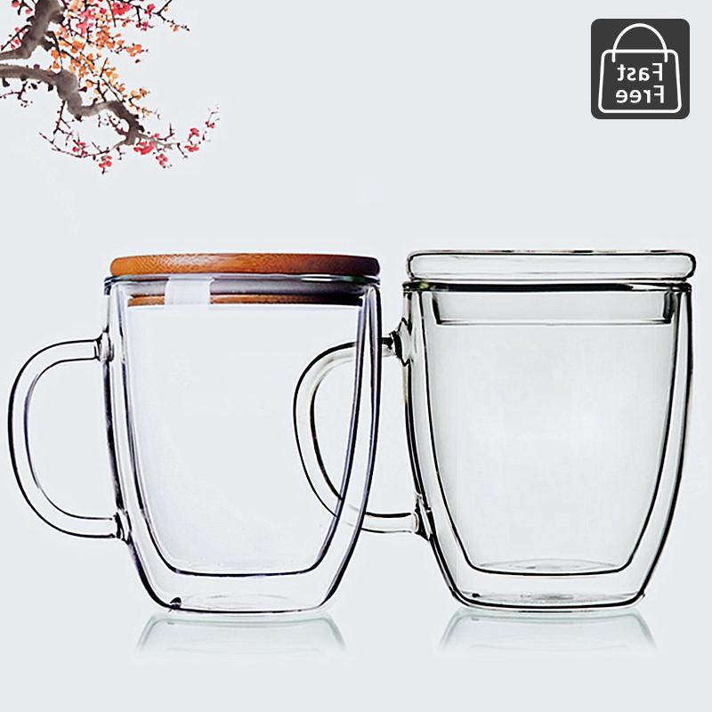 strong clear glass double wall
