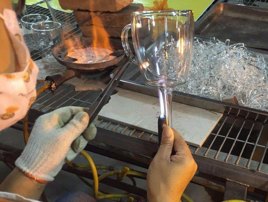 Set Clear Coffee Mug Tea Cup 10 oz