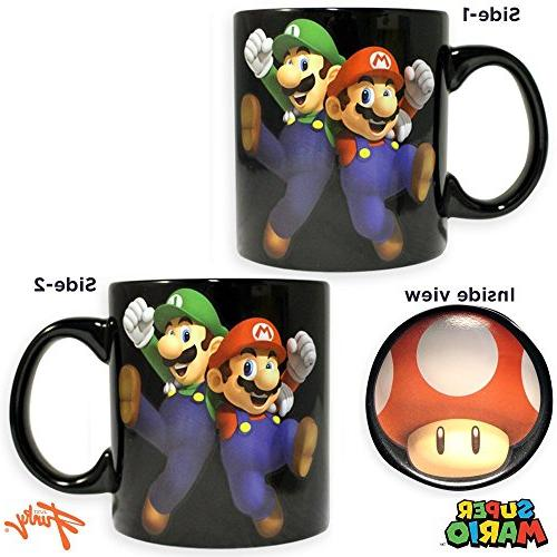 Super Mario Game Coffee &Tea Mug/Cup - Novelty Funny Fan Party Gift Monopoly, OZ