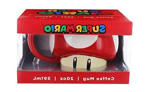 Nintendo Super Power-Up Mug