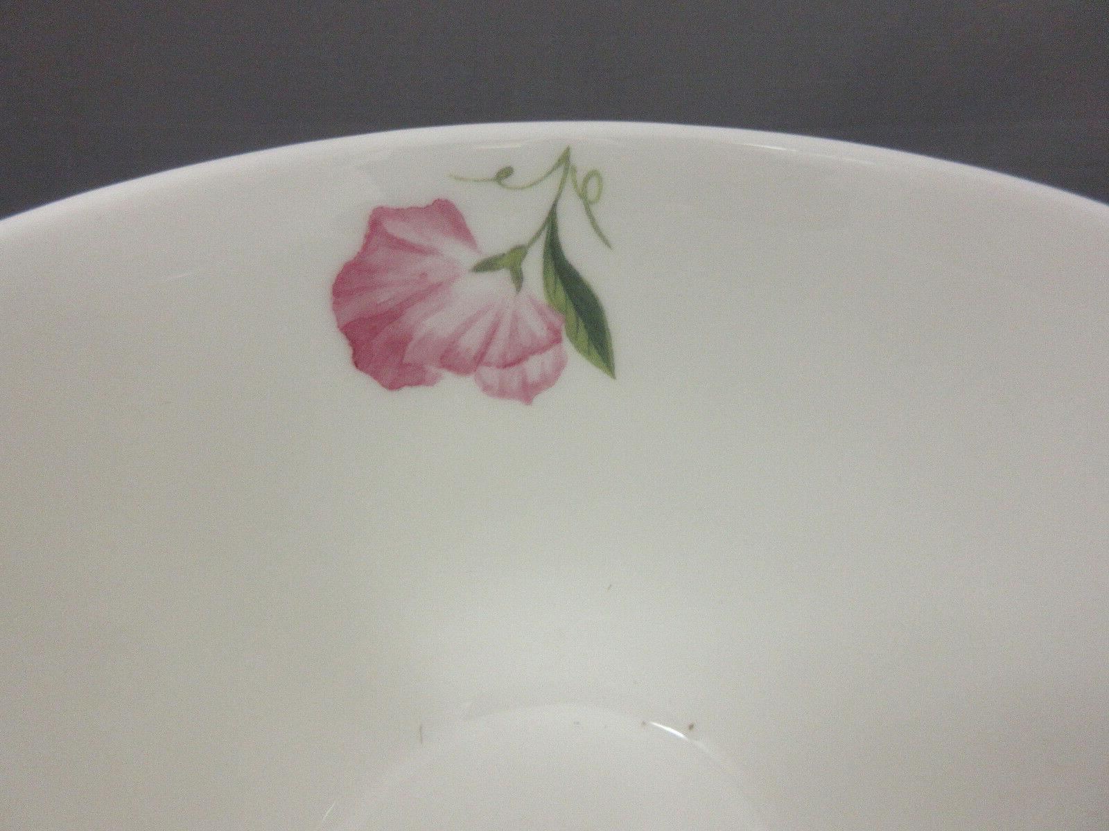 SWEET PEA BONE CUP SAUCER, IN ENGLAND