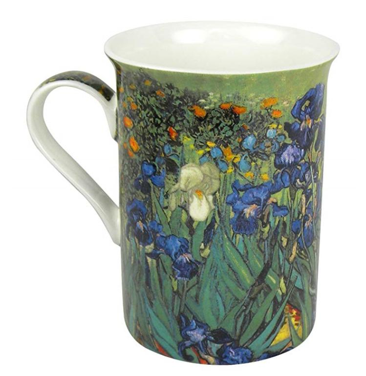 Cup Coffee Van Iris Fine Bone Art