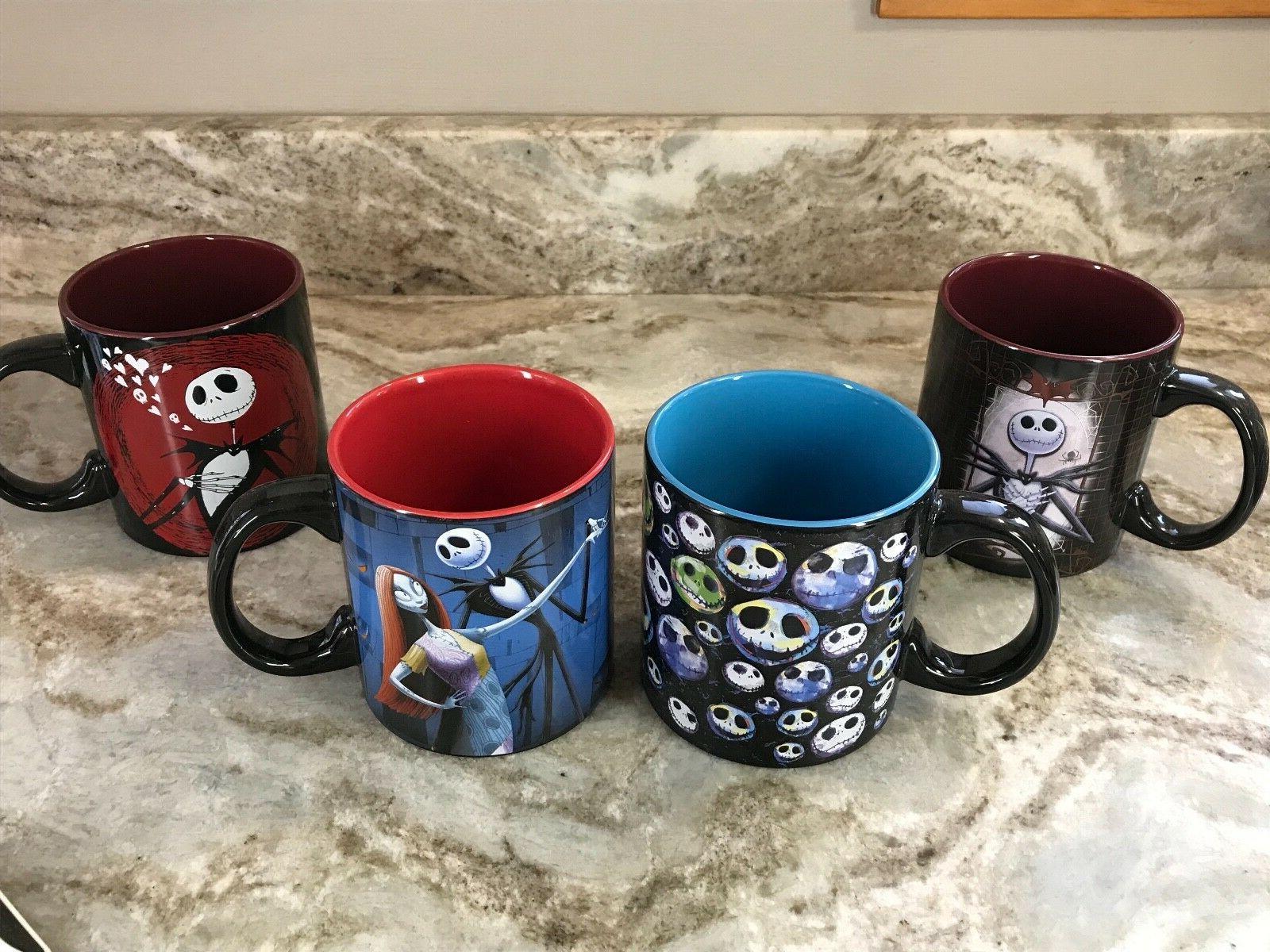 Nightmare Before Christmas Coffee Mug.The Nightmare Before Christmas Coffee Mug Red Blue You Choose 20 Oz New