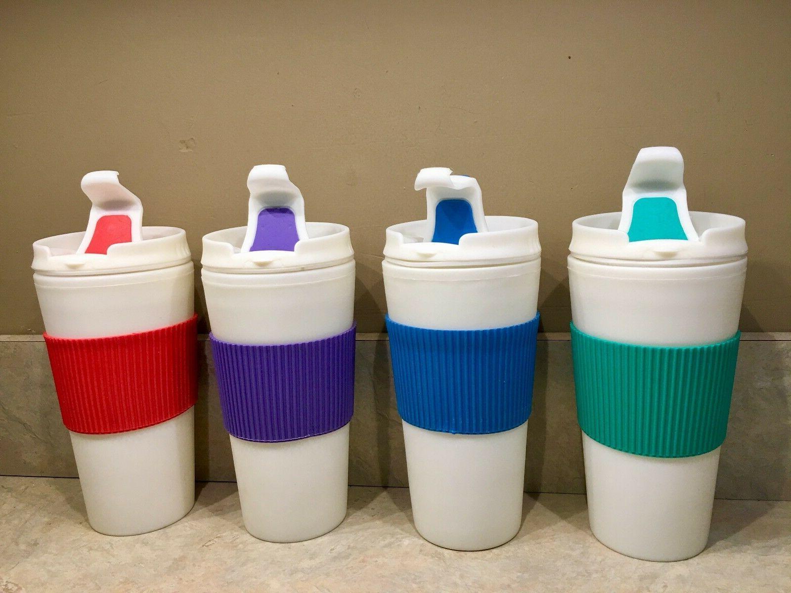 thermal 16 oz travel coffee mug cup