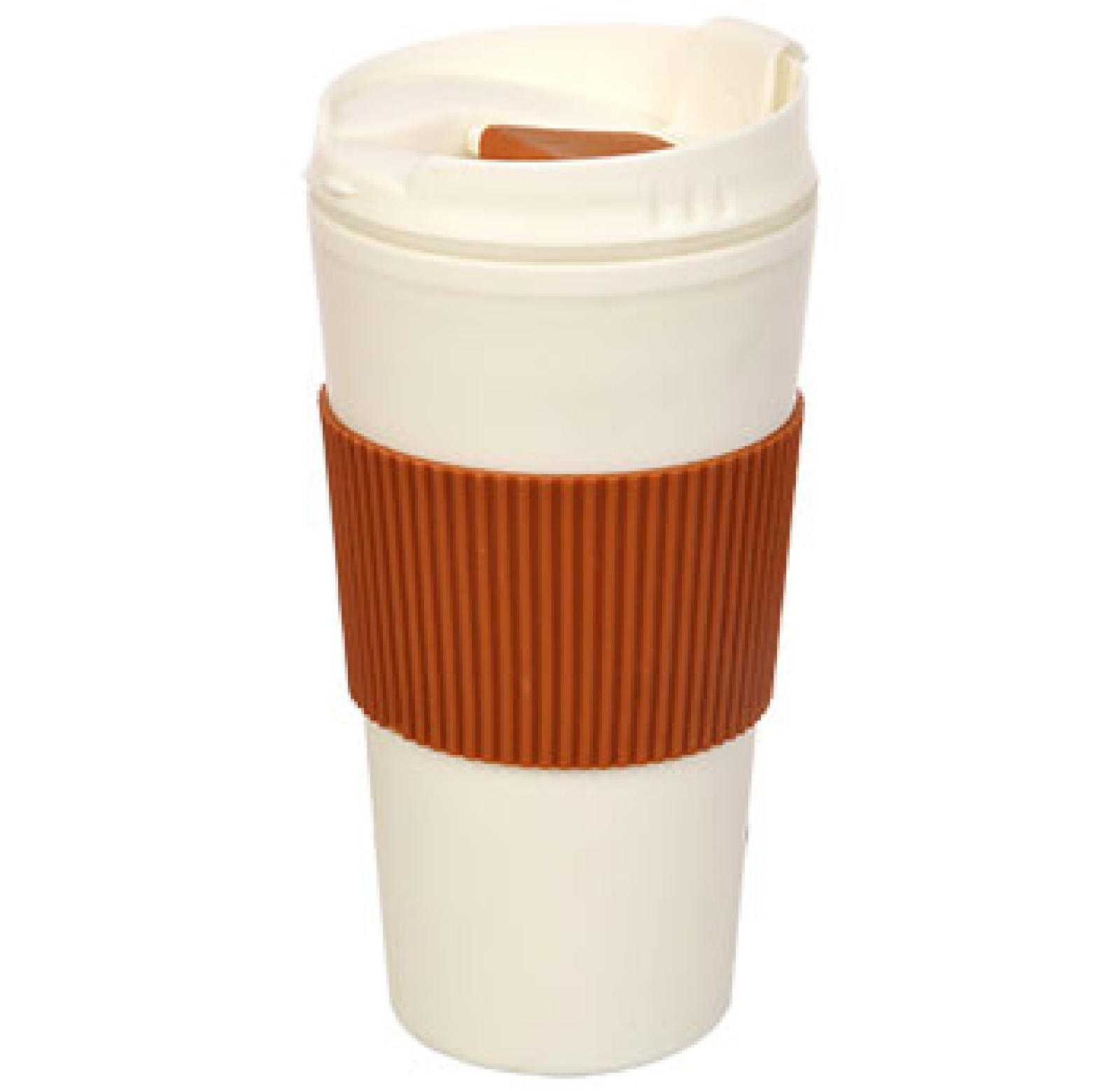 Thermal-16 Travel Mug Cup Flip with-Rubber-Hand-Protector $5.99