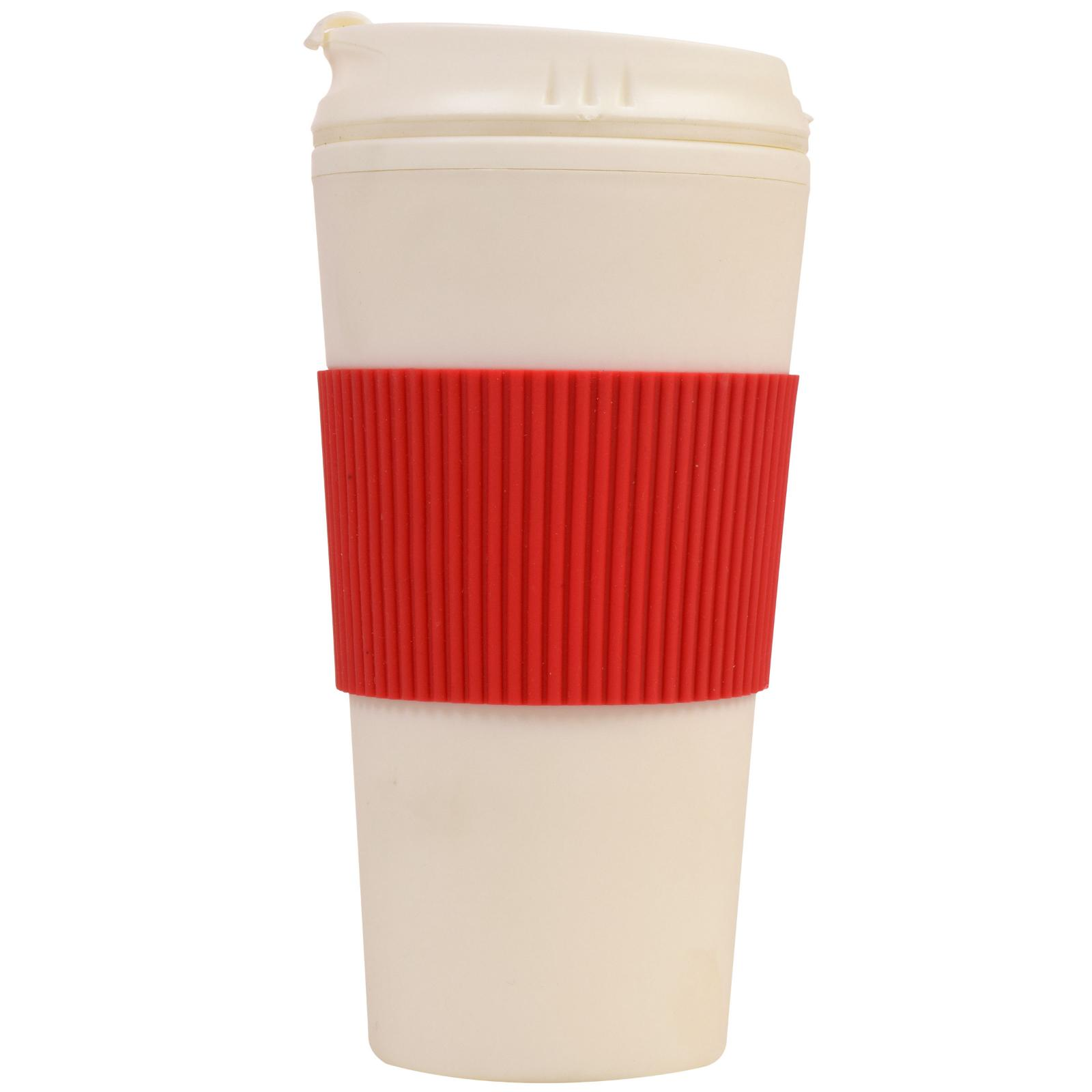 Thermal-16 Travel Mug Cup Flip with-Rubber-Hand-Protector