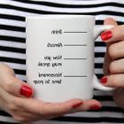 Time to Poop Shh Funny Coffee Mug - Ceramic Coffee Cup - Nov