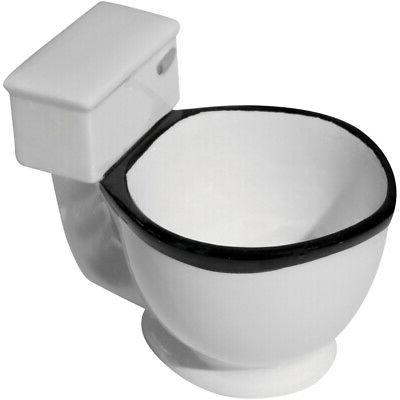 Evelots Toilet Mug Ceramic Coffee, Tea Cup Gift,
