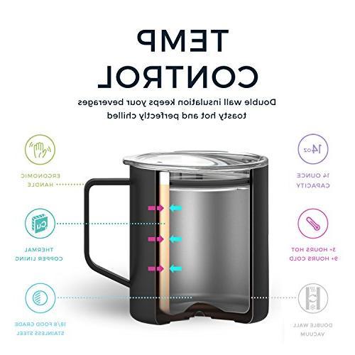 Maars Insulated Mug, Double Vacuum Sealed