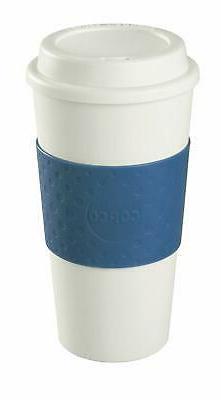 Travel Mug Durable Microwave Dishwasher Safe Holder Hot Cold