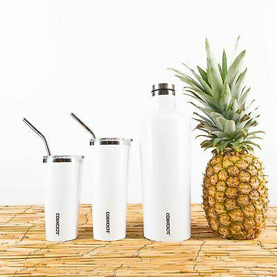 Triple Travel Mug Stainless New