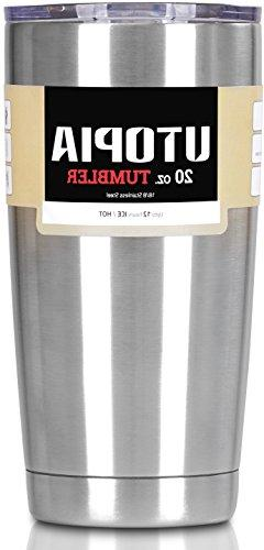 Utopia Tumbler - Stainless Steel Double Wall Insulated Large