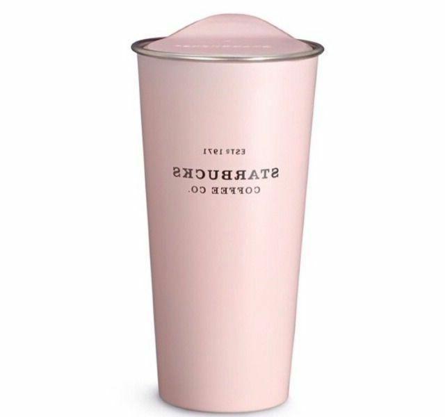 Tumbler Starbucks Travel Pink Mug Oz New Cup Coffee Traveler